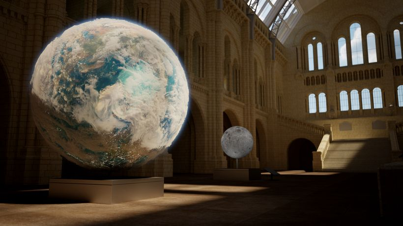 Planet in a Museum